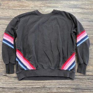 Spiritual Gangster Rainbow Rib Sweatshirt
